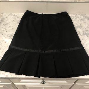 Michele Black Midi Skirt